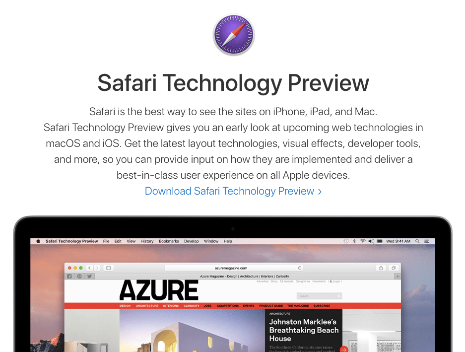 Safari Technology Preview- Stop Auto-Play videos
